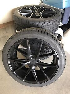 """22"""" wheels and tires for Grand Cherokee / Durango"""
