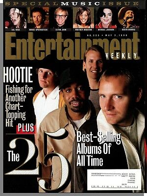 Entertainment Weekly #325 - 1996, May 3 - The 25 Best Selling Albums of All