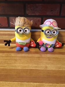 Collectable Beanie Babies Minion Jerry & Dave