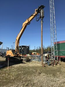 SCREW PILE EQUIPMENT/OPERATION FOR SALE
