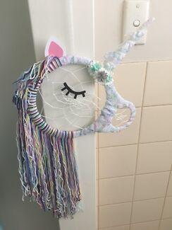 Unicorn Dream Catcher - white multicolour