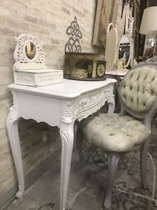 Small French style desk /console table