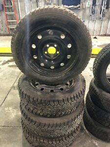 Used snow tires and rims p215/65r17