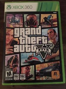 Grand Theft Auto V (Xbox 360) - Great Condition!!
