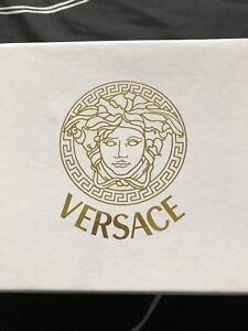 Red Versace Slides Size 38