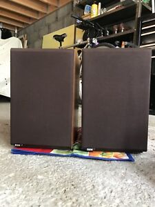 B and W DM12 Speakers