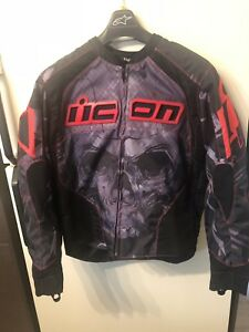 jacket de moto Icon