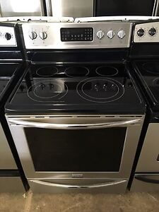 Mint 2 years old frigidaire gallery stainless  stove convection