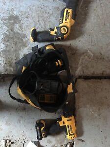 Dewalt 12v reciprocating saw and drill