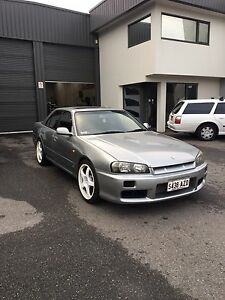 Nissan R34 skyline turbo manual Seaford Meadows Morphett Vale Area Preview