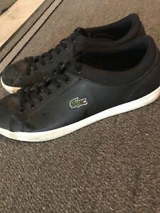 Lacoste size 10 shoes