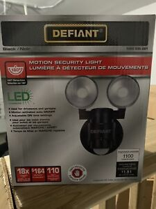 Motion Security Light Defiant Brand