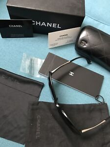 Chanel Tweed Butterfly Cat Eye Sunglasses - Full set