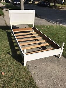 Solid cherry Antique twin bed