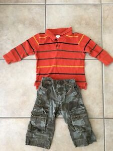 Infant boys 12-18 month clothing lot