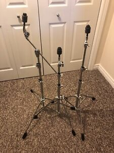 Drum Hardware. Tama Cymbal Stands + Stacker.