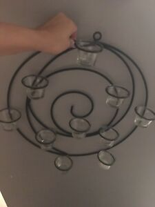 Partylite candle holder decor