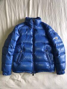 Blue Moncler Jacket Maya (No hood)