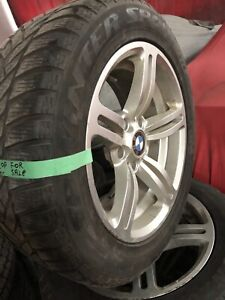 235-55-17 Dunlop winter tires and BMW wheels