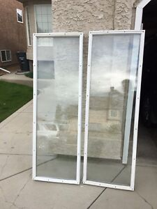 Patio door glass