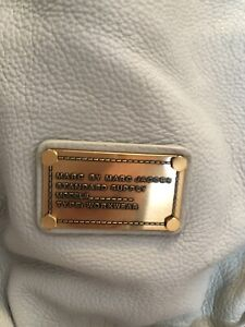 Authentic Marc Jacobs grey leather