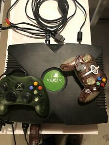 xbox console with GTA game 50$