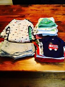 Selling Lot of 40 Baby Boy Items Size 3-6 Months