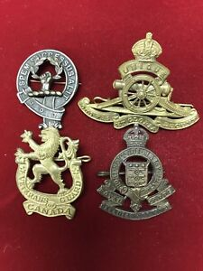 Military Cap Badge Collection
