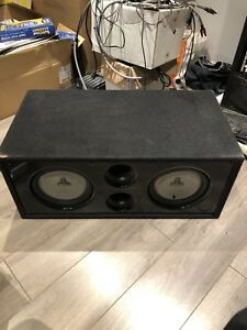 Top Of the Line JL Subs with Box included