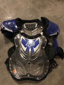 Fox motocross racing chest protector