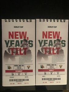 Two LB Mooseheads Tickets for New Year's Eve Lower