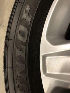 Ford Ranger standard wheels under 50kms use