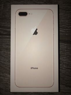 iPhone 8 PLUS (GOLD 256GB) BRAND NEW + GLASS SCREEN PROTECTOR