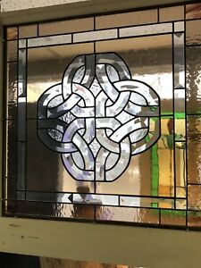 Stained Glass Bevel Celtic Knot