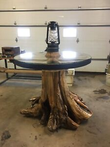 Unique one of a kind Bar table