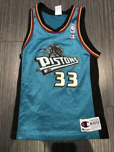 Vintage Champion Grant Hill Detroit Pistons Youth Jersey