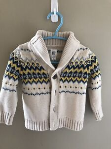 6-12M baby boy fall winter clothes lot sweater shirts onesies