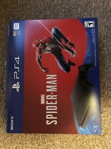 PS4 Slim 1TB with 3 remotes, spider man bundle