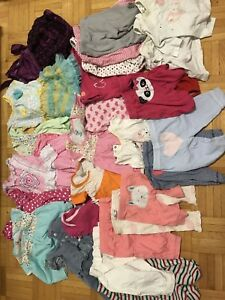 Baby girls assorted clothes 0-3 months