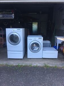 LG washer dryer.
