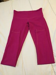 Fuschia Lululemon leggings