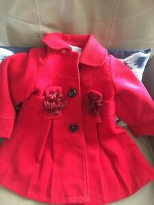 Red peacoat size 1(more like size 3)