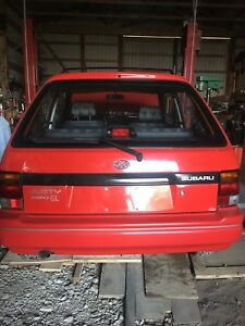1991 Subaru justy gl AWD  5 speed 3 cylinder manual