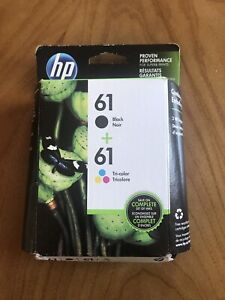 Hp 61 Black and Tri-color Printer Ink
