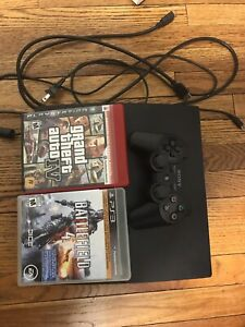 PS3 Slim w Games