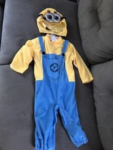 Costume d'halloween minion