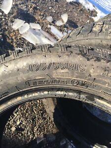 Winter tires 195-55-15