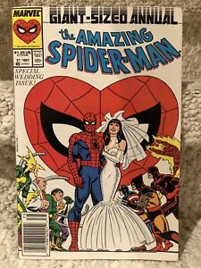 Amazing Spider-Man Annual #21 (WEDDING ISSUE)