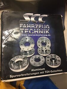2x Spacers 5x100