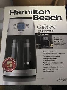Coffee machine cafetiere programable 12 cups